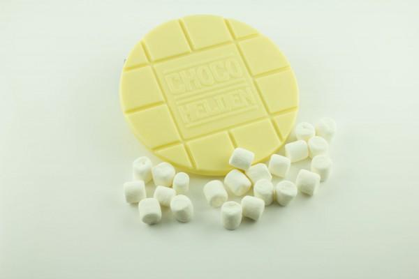 Weiße mit Marshmallows
