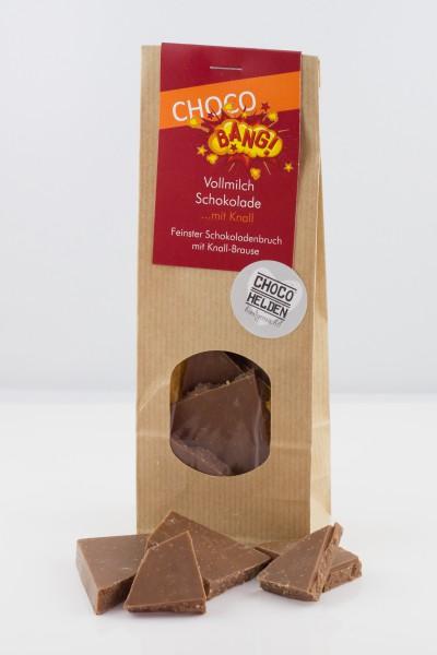 Vollmilch-Schokolade mit Knall