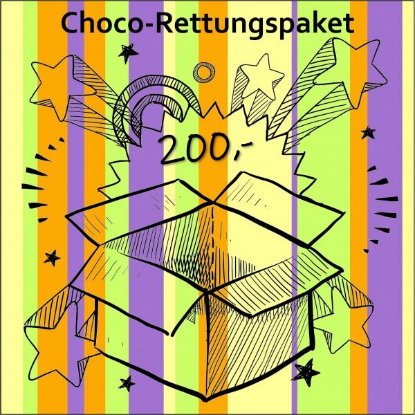 Choco-Rettungspaket im Wert von mind. 200,-€