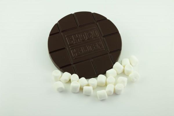 Zartbitter mit Marshmallows