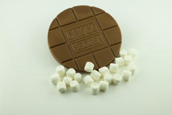 Vollmilch mit Marshmallows