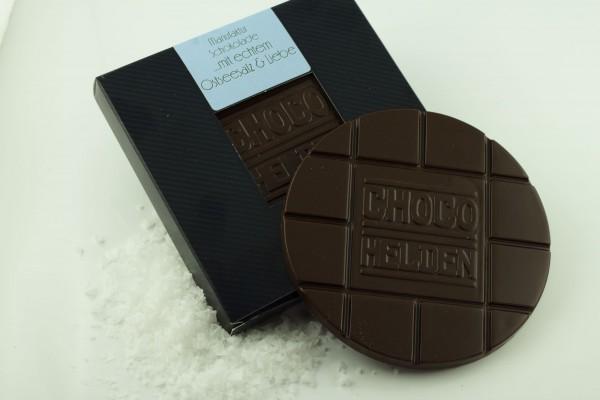 Zartbitterschokolade, Ostseesalzkristalle