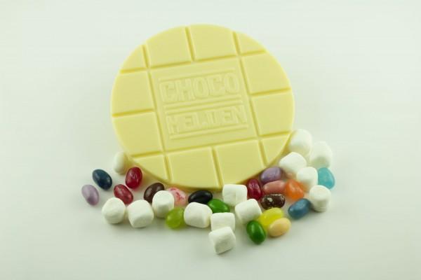 Weiße mit Marshmallows und Jelly Bellys