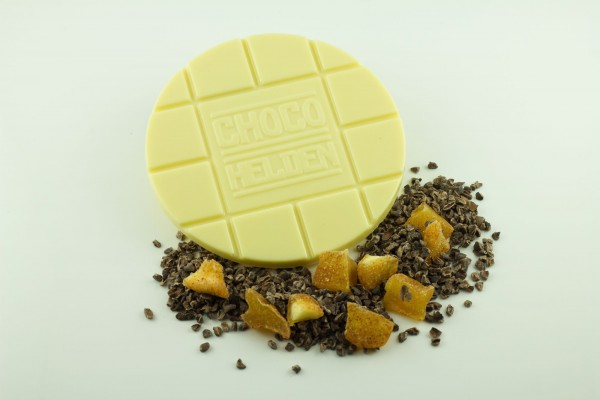 Weiße mit Kakaobohnen und Apfelstückchen Z&Z